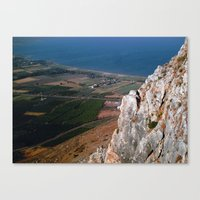 israel Canvas Prints featuring Israel by Loved and Lost