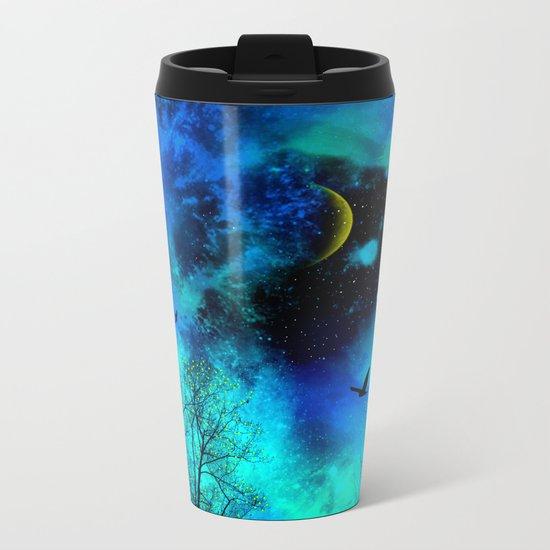wish upon a star Metal Travel Mug