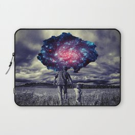 Father with Child Laptop Sleeve