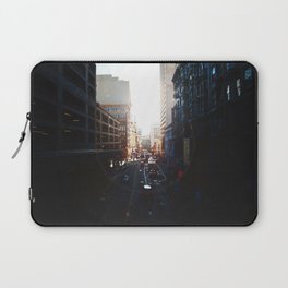 The way I see it is, We live in a rainbow of chaos Laptop Sleeve