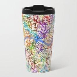London England Street Map Travel Mug