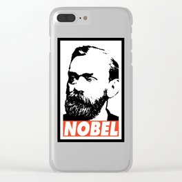 NOBEL Clear iPhone Case