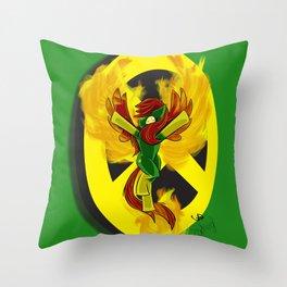 Phoeny | Mutant Little Ponies Throw Pillow