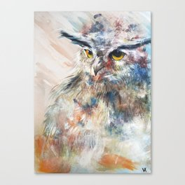 Owl Flow Canvas Print