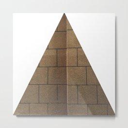 Bizzarre Love Triangular Metal Print