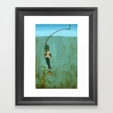 Nautical Grief  Framed Art Print