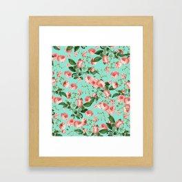 Rosy Life #society6 #decor #buyart Framed Art Print