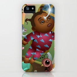 Let your dreams bring you to other magical worlds iPhone Case