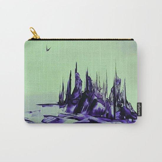 Purple alienscape Carry-All Pouch