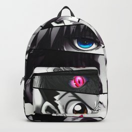 hunter x hunter eyes illustration Backpack