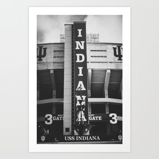 Indiana University Art Print