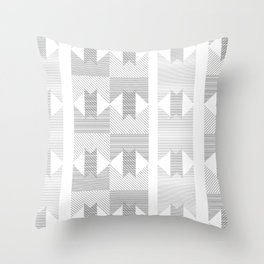 UFOlk 1 Throw Pillow