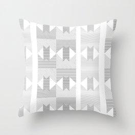 UFOlk 1 Throw Pillow