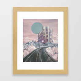 The way to heaven Framed Art Print