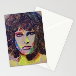 Come On Baby Light My Fire - Morrison Madness Stationery Cards