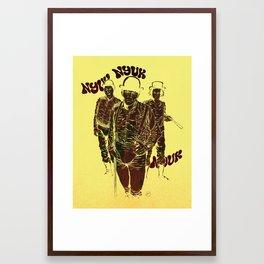 A Clockwork Stooges Framed Art Print