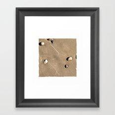 art in the sand 4 Framed Art Print