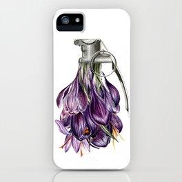 Flowerbomb iPhone Case