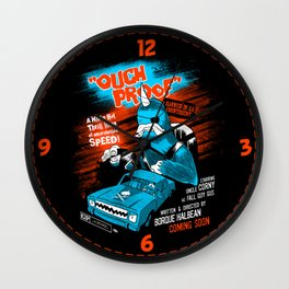 """""""Ouchproof"""" Wall Clock"""