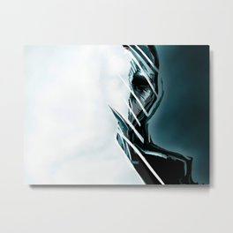 Wrap Around Man Metal Print