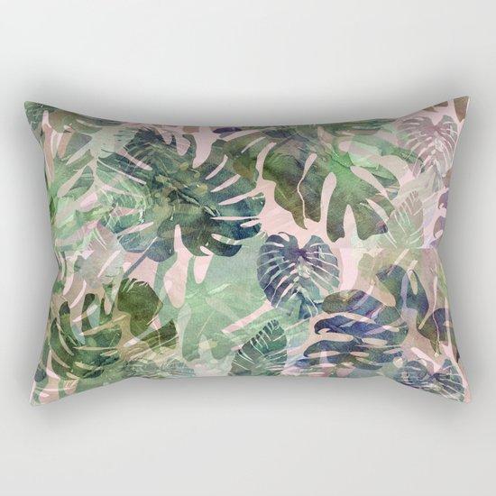 tropical confusion Rectangular Pillow