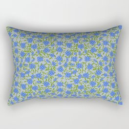 Forget-me-nots Rectangular Pillow