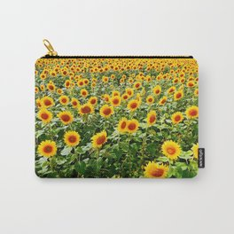 Field of Sunny Flowers Carry-All Pouch