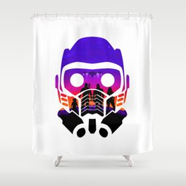 Guardians of the Galaxy [v.2] Shower Curtain