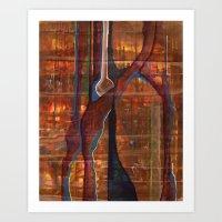 veined Art Print