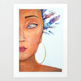 """Lalah"" Art Print"