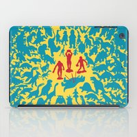 marx iPad Cases featuring Hunted! by Ivan Guerrero