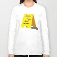 floyd Long Sleeve T-shirts featuring Pink Floyd by gunberk