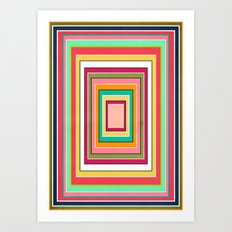 Floor Pattern Art Print
