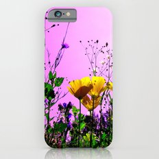 flower field abstract IX iPhone 6 Slim Case