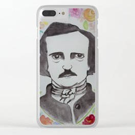 Pretty Poe Clear iPhone Case