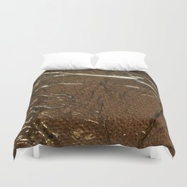 Golden Wrinkles Duvet Cover