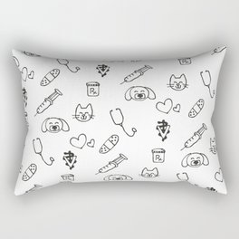 Vet Life Rectangular Pillow