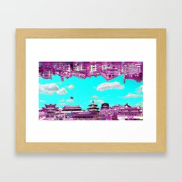 marcopolo with no echo Framed Art Print