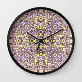 Fretwork in the Maze Wall Clock