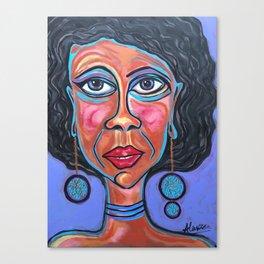 Unbalanced Ursula Canvas Print