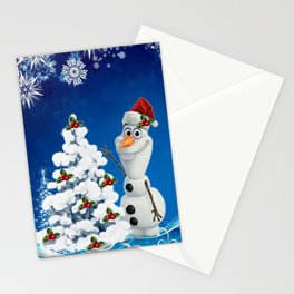 Olaf Frozen Stationery Cards