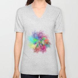 Feel The Rainbow Unisex V-Neck
