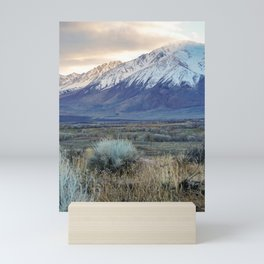 High Desert Mountains Mini Art Print