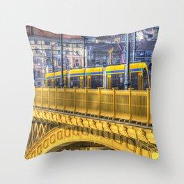 Margaret Bridge Budapest Throw Pillow