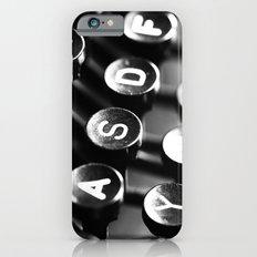 Typewriter keys Slim Case iPhone 6
