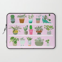 Shelfie cactus print Laptop Sleeve