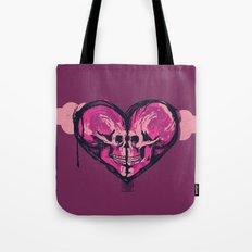Love Skulls Redux Tote Bag