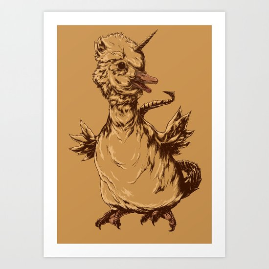 Balut Ogok Art Print