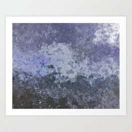 Rough Water Art Print