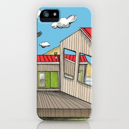 Skewed by Debbie Porter - Designs of an Eclectique Heart iPhone Case